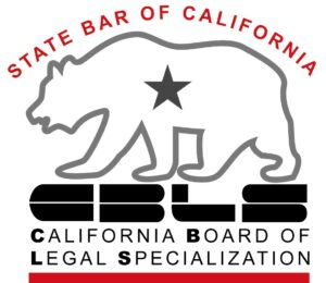 official seal of the state bar of california board of legal specialization showing a california state bear with state bar of california certification as criminal defense specialist and link to news article on horowitz if you click the picture